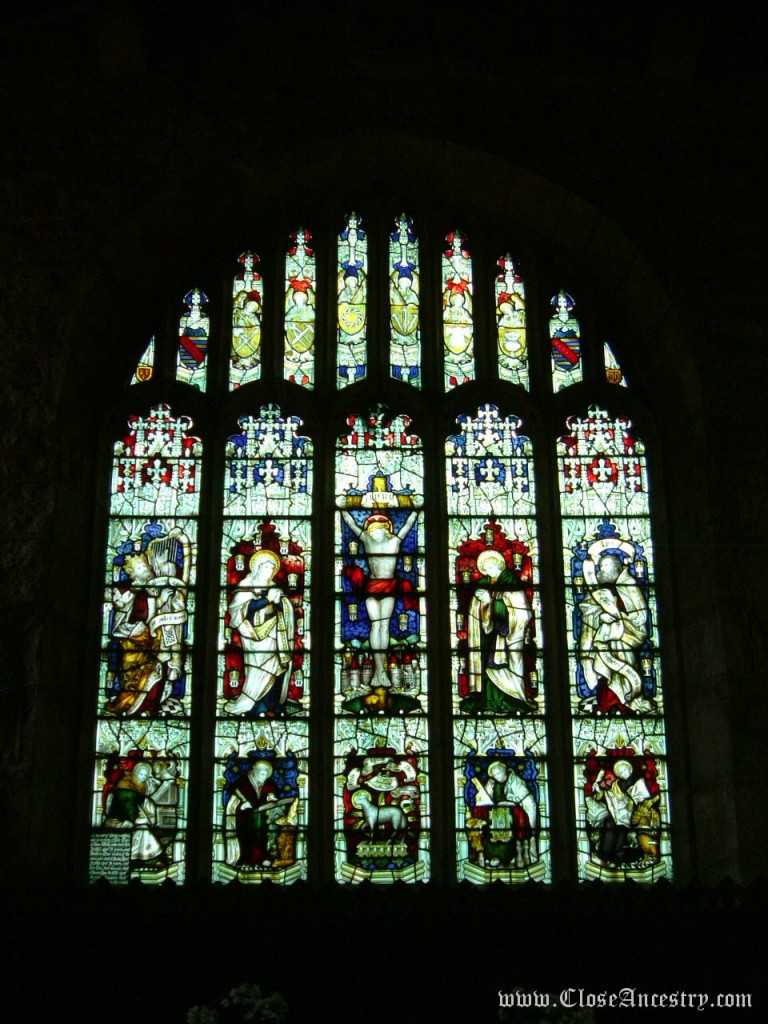 Church of St Andrew - Grinton - East Window