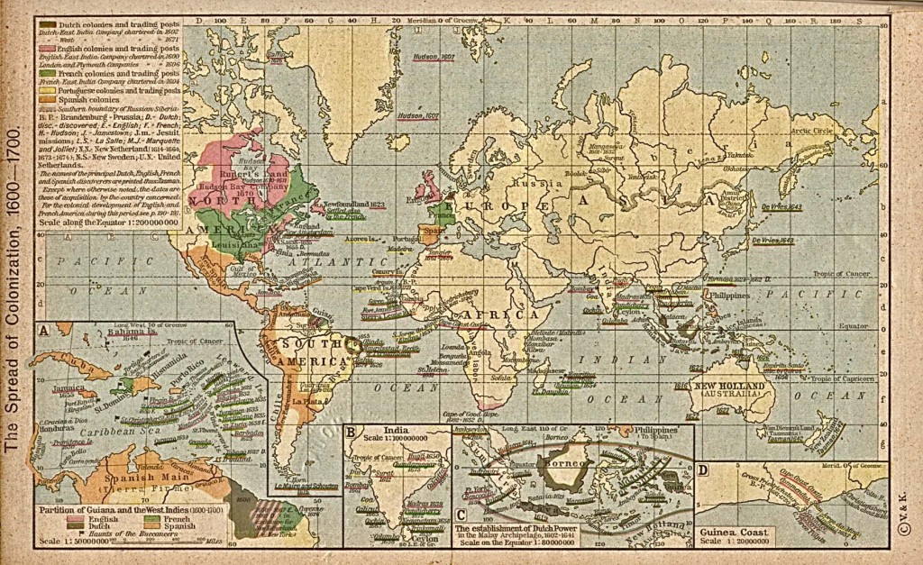The World 1600 - 1700