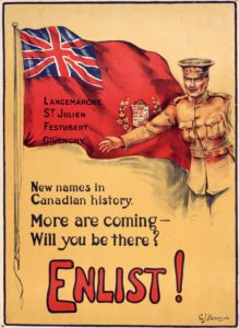 Canadian Recruitment - WW1