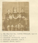 "Children of John ""Poet"" Close (1816) around 1871"