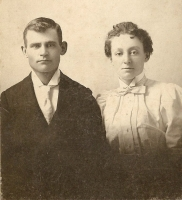 Sarah Agnes Close (1878) and Alexis Lucas (1875) around 1898