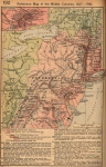 Middle American Colonies from 1607 to 1760