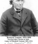 Bernard Tennant (1824) before 1890