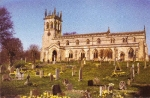 Aysgarth, Yorkshire - The Church of St Andrew - Outside View