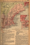 New England American Colonies from 1607 to 1760
